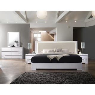 White Modern Contemporary Bedroom Sets Online At Our Best Furniture Deals