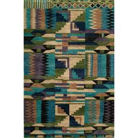 Momeni Madagascar Duncan Multicolor Wool Area Rug (3' 6 x 5' 6)