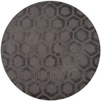 Momeni Heavenly Olivey Round Area Rug - 4' x 4'