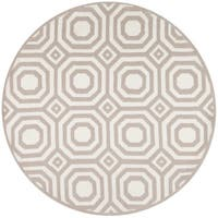 Momeni Heavenly Brea Grey Area Rug - 4' x 4'