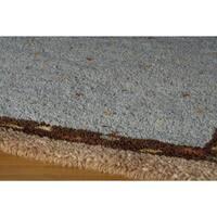 Momeni Desert Gabbeh Oakley Wool Area Rug (8' x 8') - 8' x 8'