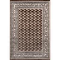 "Momeni Dakota Loiret Brown Indoor/Outdoor Rug - 7'10"" x 9'10"""