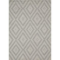 "Momeni Heavenly Syracuse Steel Area Rug - 7'6"" x 9'6"""