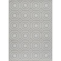 "Momeni Heavenly Brea Grey Area Rug - 7'6"" x 9'6"""