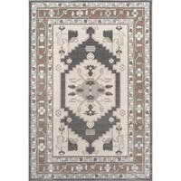"Momeni Dakota Silvia Beige Indoor/Outdoor Rug (8' 6 x 11' 6) - 8'6"" x 11'6"""