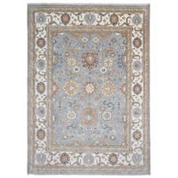 FineRugCollection Hand Made Oushak Oriental Rug - 9'9 x 14'