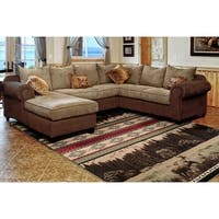 Westfield Home Hollyhock Sherwood Forest Green Area Rug - 5'3 x 7'2