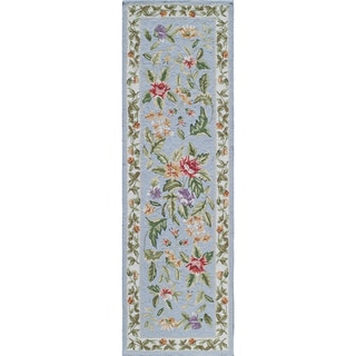 "Momeni Spencer Willow Blue Runner Rug - 2'6"" x 8' Runner"