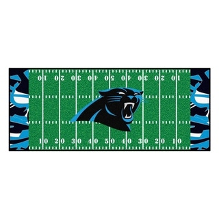 "NFL - Carolina Panthers Runner 30""x72"""