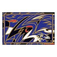 NFL - Baltimore Ravens 4'x6' Rug
