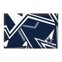 "NFL - Dallas Cowboys Scraper Mat 19""x30"""