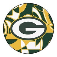 "NFL - Green Bay Packers Roundel Mat 27"" diameter"