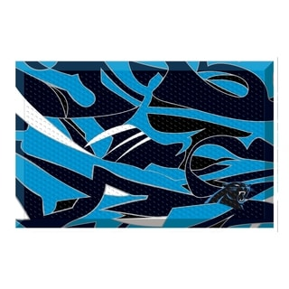 "NFL - Carolina Panthers Scraper Mat 19""x30"""