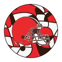 "NFL - Cleveland Browns Roundel Mat 27"" diameter"