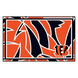 NFL - Cincinnati Bengals 4'x6' Rug
