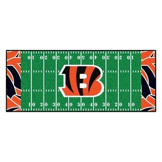 """NFL - Cincinnati Bengals Runner 30""""x72"""""""