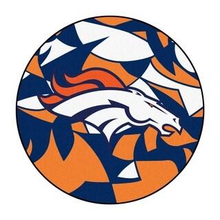 "NFL - Denver Broncos Roundel Mat 27"" diameter"