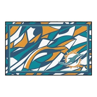 NFL - Miami Dolphins 4'x6' Rug