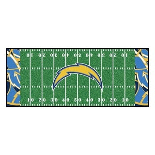 "NFL - Los Angeles Chargers Runner 30""x72"""