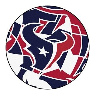 """NFL - Houston Texans Roundel Mat 27"""" diameter"""