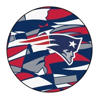 """Link to NFL - New England Patriots Roundel Mat 27"""" diameter Similar Items in Fan Shop"""