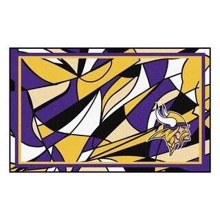 NFL - Minnesota Vikings 4'x6' Rug