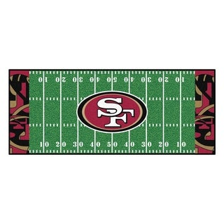 "NFL - San Francisco 49ers Runner 30""x72"""