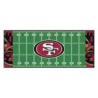 "NFL - San Francisco 49ers Runner 30""x72"""