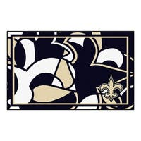 NFL - New Orleans Saints 4'x6' Rug