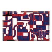 "NFL - New York Giants Scraper Mat 19""x30"""