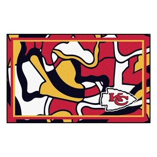 NFL - Kansas City Chiefs 4'x6' Rug