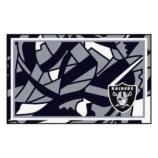 NFL - Oakland Raiders 4'x6' Rug