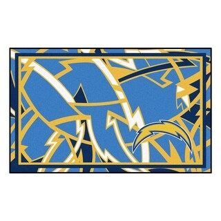 NFL - Los Angeles Chargers 4'x6' Rug