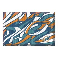 """NFL - Miami Dolphins Scraper Mat 19""""x30"""""""