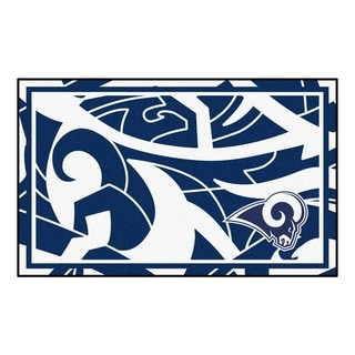 NFL - Los Angeles Rams 4'x6' Rug