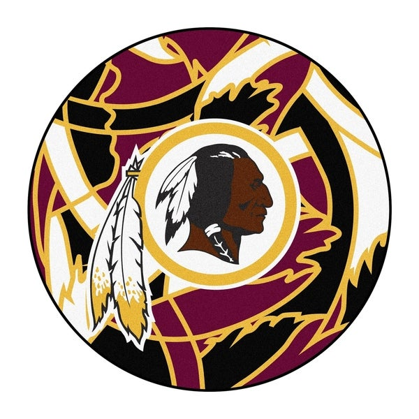 02a7ed60afbb52 Shop NFL - Washington Redskins Roundel Mat 27
