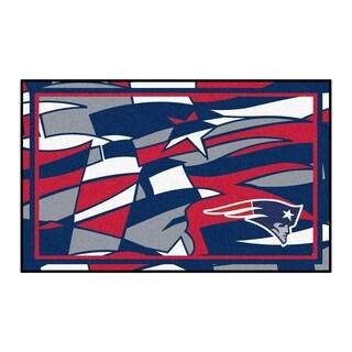 NFL - New England Patriots 4'x6' Rug