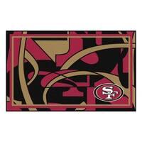 NFL - San Francisco 49ers 4'x6' Rug
