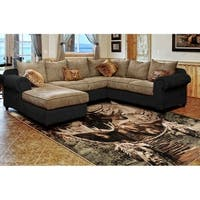 "Westfield Home Hollyhock Elk Dream Catcher Multi Area Rug - 7'10"" x 10'6"""