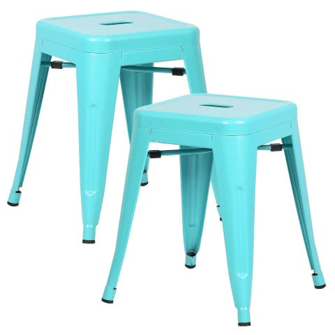 EdgeMod Trattoria 18-inch Stool (Set of 2)