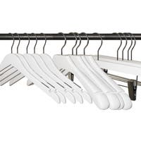 (79 pcs) Espresso Wooden Hanger Set including Shirt, Skirt/Pant and Suit