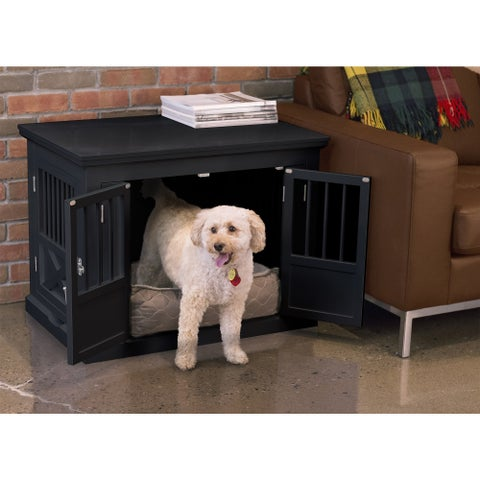 Merry Products Triple Door Dog Crate & End Table