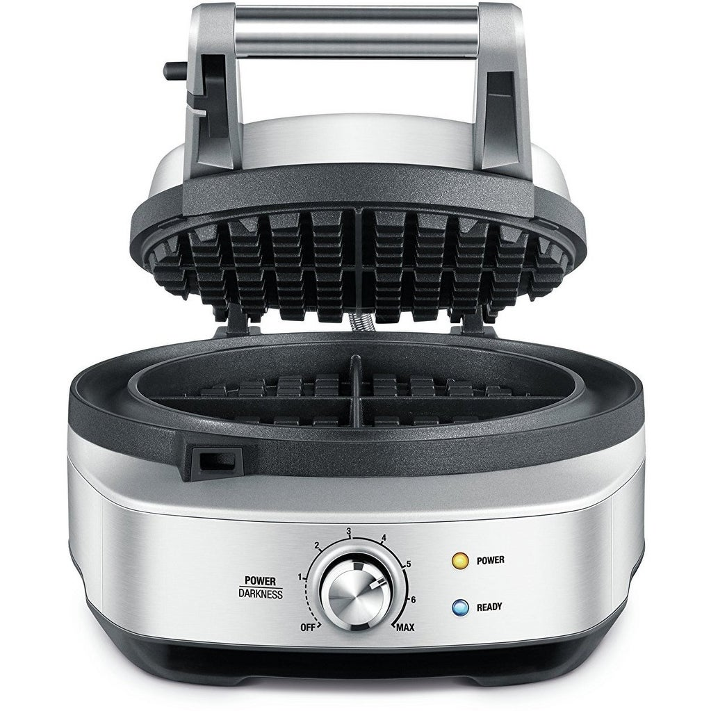 Breville BWM520XL The No Mess 2-Slice Waffle Maker (Silve...
