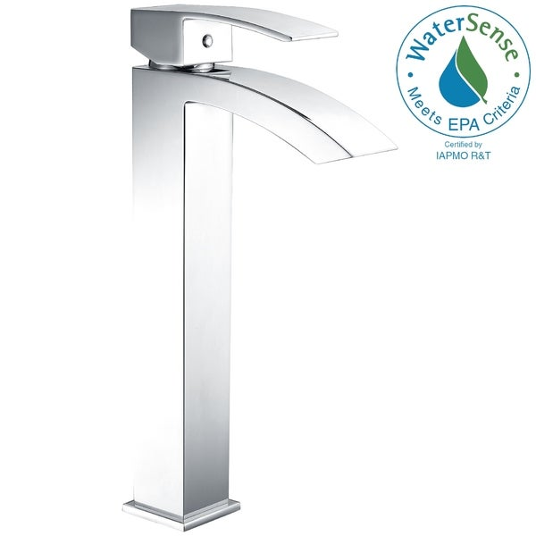 Anzzi Tutti Single Hole Handle Bathroom Faucet In Polished Chrome