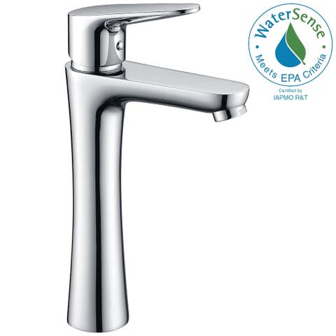 ANZZI Vivace Single Hole Single-Handle Bathroom Faucet in Polished Chrome