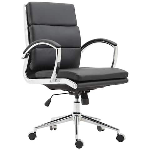Poly and Bark Crestwell Mid Back Office Chair