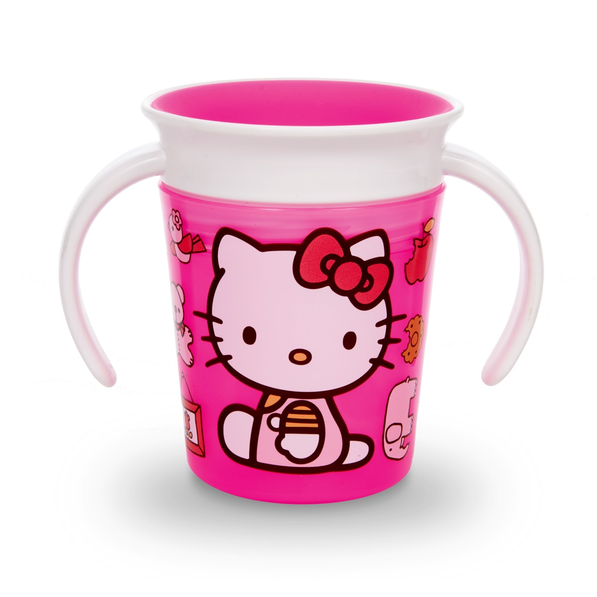 Pink//Purple 2 Pack Munchkin Miracle 360 Trainer Cup