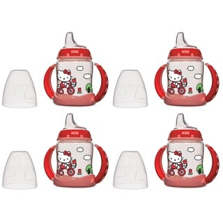 NUK Hello Kitty 5 oz Learner Cup - 4 Pack