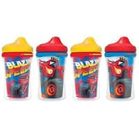 Gerber Graduates Blaze & The Monster Machines Insulated Hard Spout Sippy Cup - 4-Pack