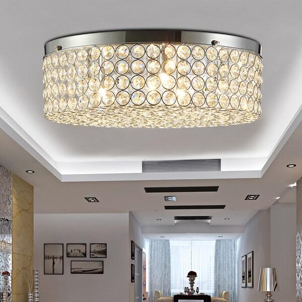 Giannis 6 light flush mount ceiling lamp crystal and chrome free giannis 6 light flush mount ceiling lamp crystal and chrome aloadofball Images